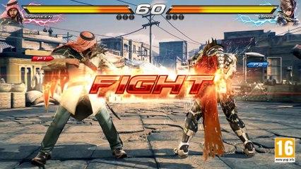 Tekken 7 - PS4 XB1 PC - Shaheen VS Lars (Character Gameplay) de Tekken 7
