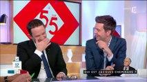 Benoît Hamon mort de rire après une déclaration classée X de Jacques Cheminade