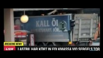Stockholm Truck on Crowd and Departmental Store Full Video