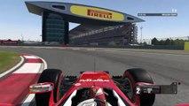 Formule 1 : Tour de circuit (GP de Chine) en Ferrari (Vettel) sur F1 2016