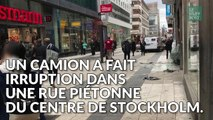 Stockholm: les images de la panique après l'attentat au camion en Suède