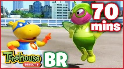 Os Backyardigans Desenho Animado - Episódios 47-49 Compilação De 70 mins Para Crianças