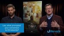 Mike Vogel  & Lee Strobel On 'The Case For Christ'