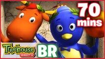 Os Backyardigans Desenho Animado - Episódios 50-52 Compilação De 70 mins Para Crianças