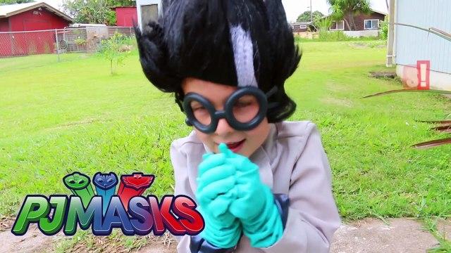 PJ MASKS SUPERHERO IRL EAT Rat MOUSE + Bugs + Play Hospital Visit Medical Kit Gekko CATBOY