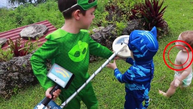 PJ Masks FULL Episodes IRL Superheroes Catboy DISAPPEAR TURN INTO BABY Gekko PJ MASKS IRL Episodes