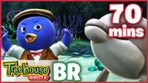 Os Backyardigans Desenho Animado - Episódios 53-55 Compilação De 70 mins Para Crianças