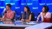 """Arnaud Demanche : """"Laurence Haïm, j'vous ai apporté des bonbons"""""""