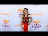 Heidi Klum 2017 Kids' Choice Awards Orange Carpet