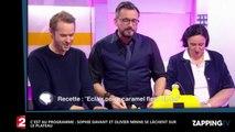 C'est au programme : Olivier Minne et Sophie Davant enchaînent les allusions coquines (Vidéo)