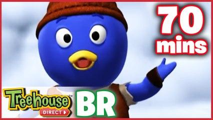 Os Backyardigans Desenho Animado - Episódios 56-58 Compilação De 70 mins Para Crianças