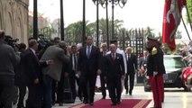 Fransa Başbakanı Cazeneuve Ile Tunus Başbakanı Şahid'in Ortak Basın Toplantısı