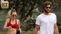 EXCLUSIVE: Miley Cyrus Shows Off Her Insane Abs During Hiking Date With Liam Hemsworth -- Pics!