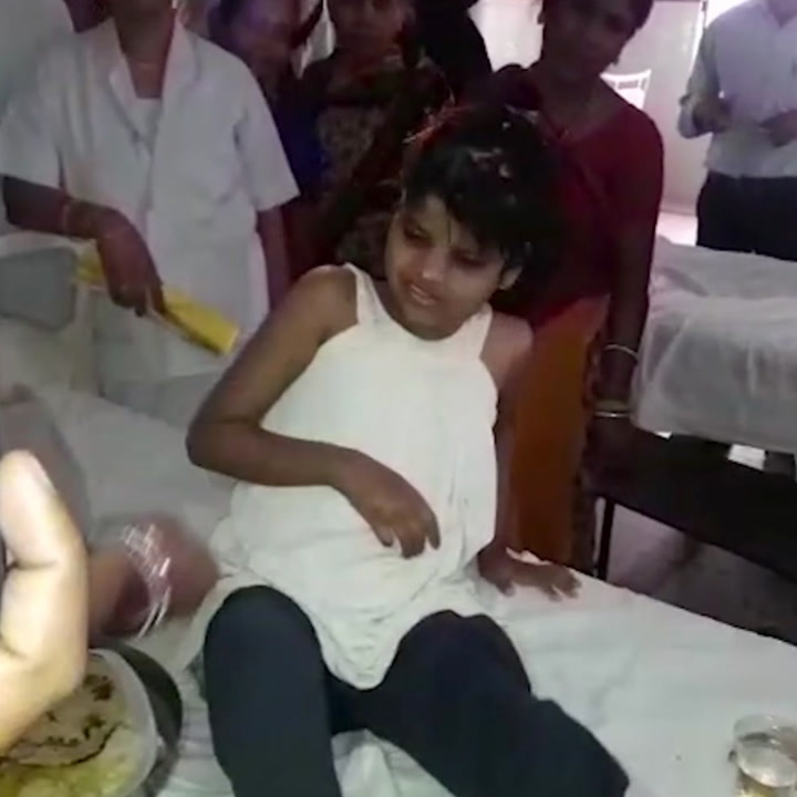 This little girl was living with monkeys [Mic Archives]