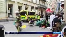 Suède : un attentat en plein cœur de Stockholm