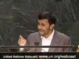 Discours d'Ahmadinejad à l'ONU en Fr 2/2