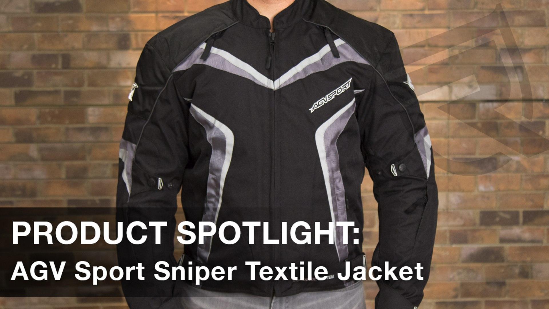 68415661d AGV Sport Sniper Motorcycle Jacket Product Spotlight Video | Riders Domain