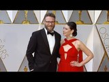 Seth Rogen and Lauren Miller 2017 Oscars Red Carpet