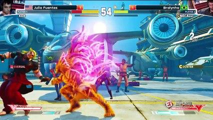 Brolynho x Julio Fluentes - ELEAGUE Street Fighter V