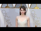 Felicity Jones 2017 Oscars Red Carpet