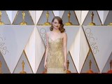 Emma Stone 2017 Oscars Red Carpet