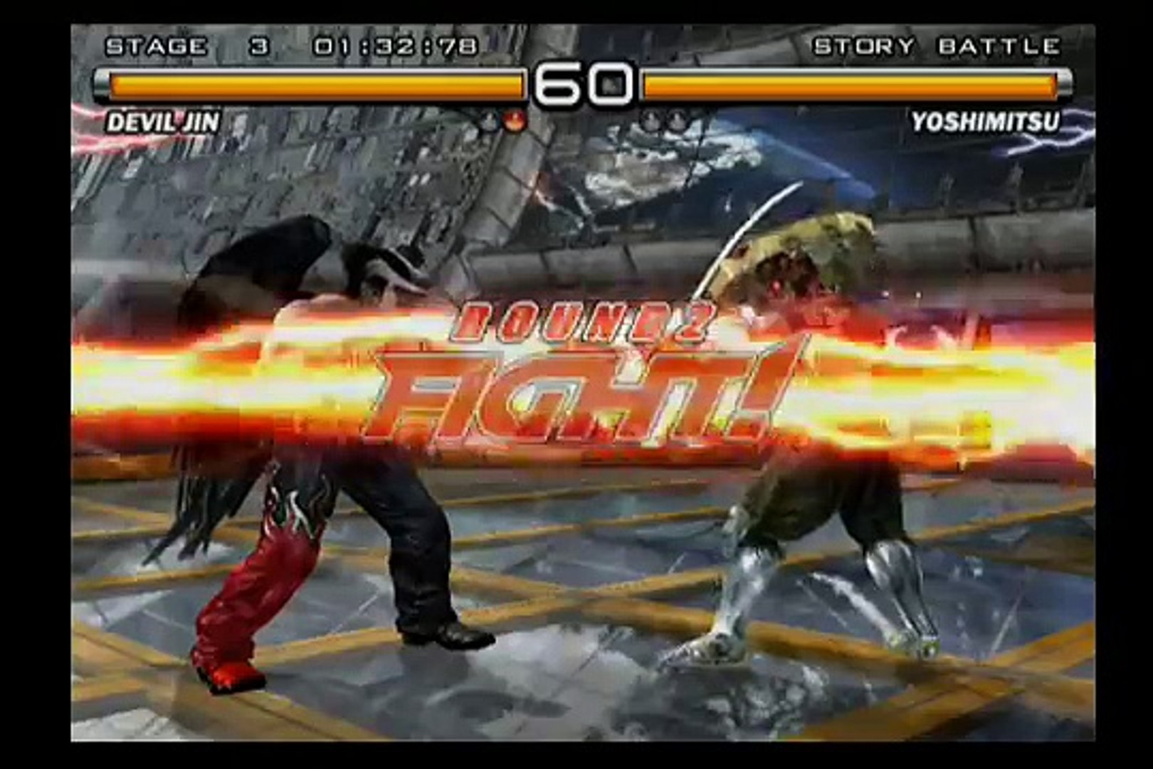 Tekken 5 Devil Jin Gameplay Video Dailymotion