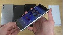 Sony Xperia XZ, Xperia X, Xperia Z3+, Xperia Z2 & Xperia Z Design Comparison!