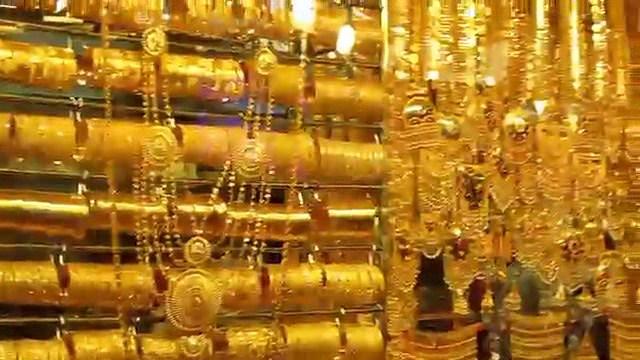 Dubai Gold Souk -  City of Gold (Amazing collections of gold, silver ,diamonds & precious stones). http://bit.ly/2K0keH5