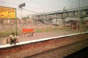 Departing from Aligarh Railway Station