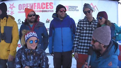 2* OPEN FACES FREERIDE CONTEST GASTEIN 2017 - RELIVE
