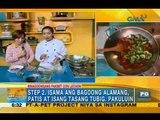 Kitchen Hirit: Binagoongang pinakbet con lechon | Unang Hirit