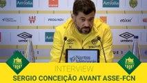 Sergio Conceição avant ASSE-FCN