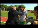 Athletics -  men's shot put F32/33 Medal Ceremony  - 2013 IPC Athletics World Championships, Lyon