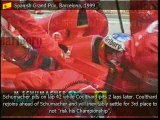 Michael Schumacher Story 39-40 Things Don't Go Schumacher's Way - Schumacher Breaks A Leg
