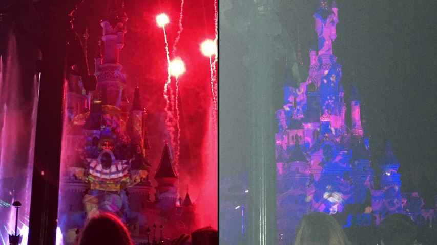 Diaporama Soirée Disneyland Paris 3 mars 2017 /Diaporama Disneyland Paris March 3rd 2017 on the evening