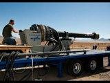 ELECTRO MAGNETIC CANNON - General Atomics Railgun shoot more than 100 miles