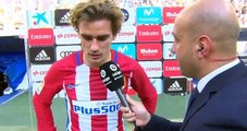 Antoine Griezmann Post Match  interview  - Real Madrid 1-1 Atl. Madrid 08.04.2017