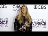 """Blake Lively """"People's Choice Awards"""" 2017 Press Room Red Carpet"""