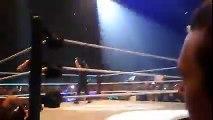 ' The Shield ( Roman Reigns , Seth Rollins & Dean Ambrose ) Vs Randy Orton WWE Live France HD
