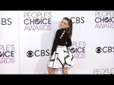 "Meg Donnelly ""People's Choice Awards"" 2017 Red Carpet"