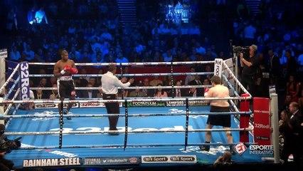 SENSACIONAL! Daniel Dubois vence Marcus Kelly com menos de 30 segundos de luta