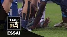 TOP 14 ‐ Essai Arnaud HEGUY (GRE) – Montpellier-Grenoble – J23 – Saison 2016/2017
