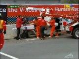 A1GP Monterrey 2005 2006 race 1 Huge crash Shimoda (Japan) flip under Safety car