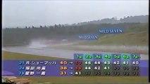 Formula Nippon Fuji Rd 10 1996 Takagi spins (Funny japanese commentary)