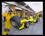 A1GP Brands Hatch 2005 2006 Race 2 Huge crash Beschir (Lebanon) flip