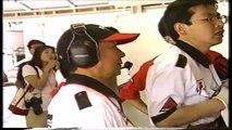 Formula Nippon Fuji Rd 3 1996 Huge crash Kageyama (Funny japanese commentary)