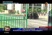 Venezuela: denuncian saqueos durante protestas contra Maduro