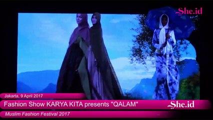 """Fashion Show KARYA KITA presents """"QALAM"""" - Muslim Fashion Festival (22)"""