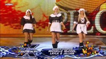 Michelle McCool, Layla and Jillian Hall vs. Melina, Mickie James and Kelly Kelly