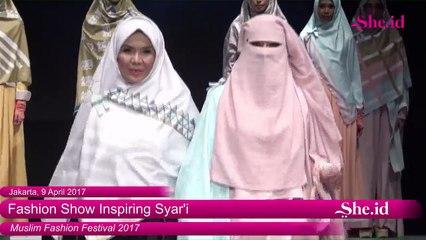 Fashion Show Inspiring Syar'i Muffest 2017